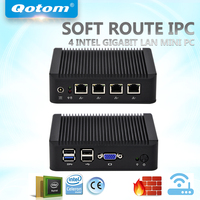 QOTOM Mini PC Q190G4 With 4 LAN Port Using Pfsense As Small Router Firewall Fanless PC