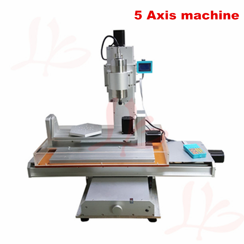1.5KW spindle CNC milling machine 3040 VFD 5axis column type engraving machine cnc 5 axis a aixs rotary axis plate type disc type for cnc milling machine