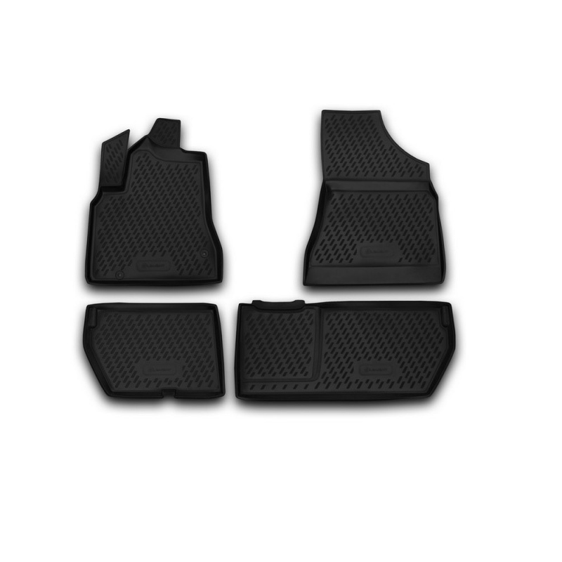 Mats in the salon For CITROEN Berlingo B9, 2008-> 4 PCs (polyurethane) коврики в салон citroen berlingo b9 2008
