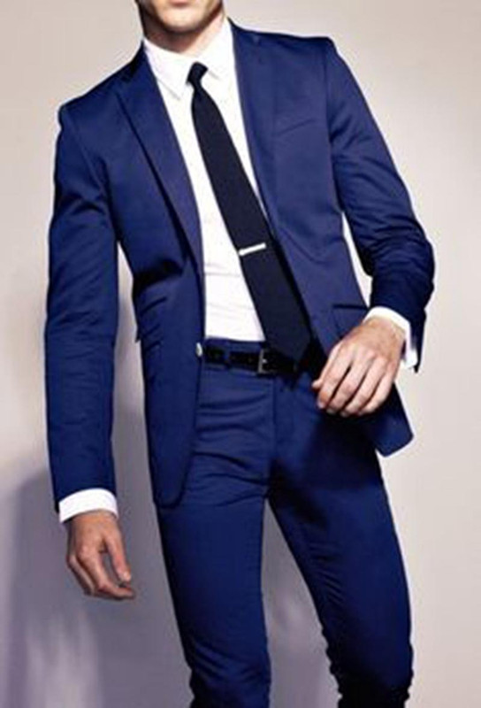 High Quality Royal Blue Tuxedos Promotion-Shop for High Quality ...