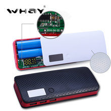Newest 3 Ports 5x18650 DIY Portable Battery Power Bank Shell Case Box LCD Display Powerbank Box