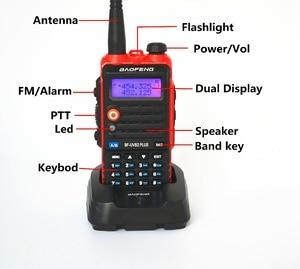 Image 3 - BaoFeng UV B2 Plus 8W High Power FM Transceiver 4800mah Battery BF UVB2 Plus for CB Radio Mobile Radio UVB2 Walkie Talkie Uv b2