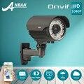 P2P 1080 P HD Lente Varifocal 2.8-12mm Baixa iluminação POE IP Câmera Ao Ar Livre do CCTV De Vigilância De Vídeo Infravermelho Câmera de segurança