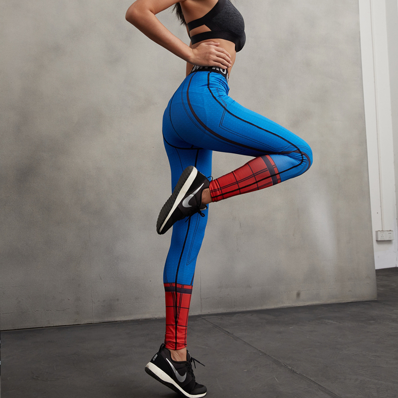 179240eda7b127 Leggings Women 3D Printed Pattern Captain America Compression Pants Fitness  Skinny Leggings Lady 2016 Autumn Trousers Female-in Leggings from Women's  ...