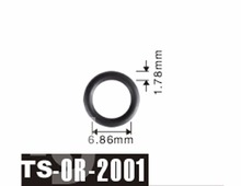Darmowa wysyłka Tenso 6 86*1 78mm dla Peugeot wtryskiwacz paliwa O #8217 Rings ORings O pierścienie o-ringi TS2001 tanie tanio Viton China (Mainland) TS-OR-2001 Fuel Injector Viton O-Rings Optional Petrol Fuel Injector 1 Year