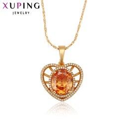 Xuping luksusowy wisiorek biżuteria 2018 naszyjnik kobiety tanie moda dzień matki biżuteria hurtowych 31013