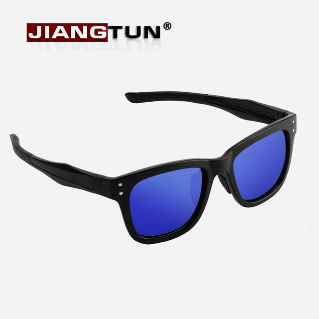 df730f71dcc8 JIANGTUN TR90 Light Fashion Polarized Sunglasses Men Women Brand Designer  UV400 Driving Mirrors Coating Points Eyewear JT8715