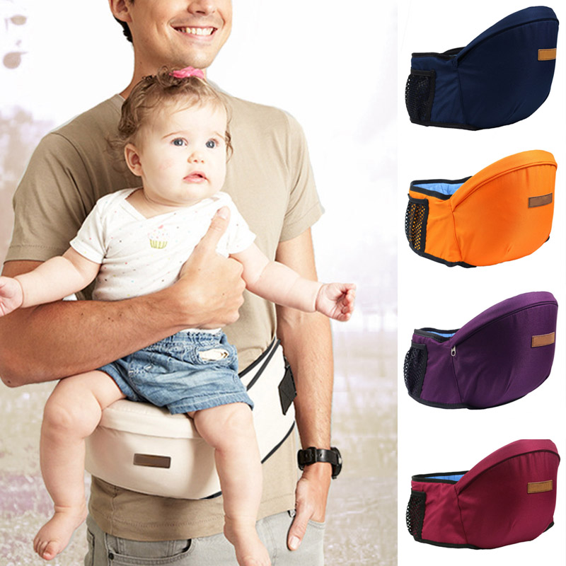 Baby Carrier Hip Seat Stools Lightweight Kids Infant Toddler Waist Seats Belt NSV775
