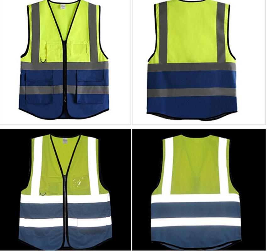 High Visibility Fashion Reflective Vest Safety Reflective Belt Motorcycle Reflective Vests Harness Running Walking Cycling Vest