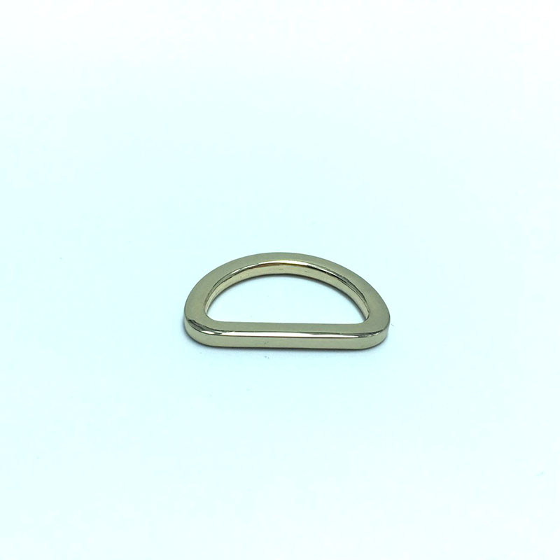 60 Pcs, 38 mm Metal D Ring, Silver Nickel Finish, High Quality, for Webbing Strap, Handbag Hardware