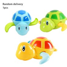 Children'S Funny turtle toy Summer Water Toys Wind-Up Spring Swimming Turtles Baby Shower Toys Water Turtles Playful ботинки turtles