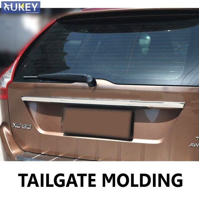 Chrome Rear Trunk Tail Gate Cover Trim FOR VOLVO XC60 2009-2014 Molding Tailgate Door & Chrome Rear Trunk Tail Gate Cover Trim FOR VOLVO XC60 2009 2014 ...