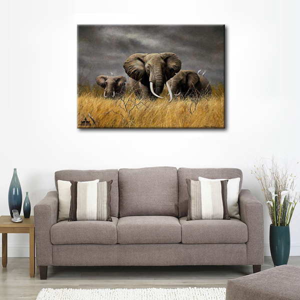 African elephant paintings picture more detailed picture African elephant home decor