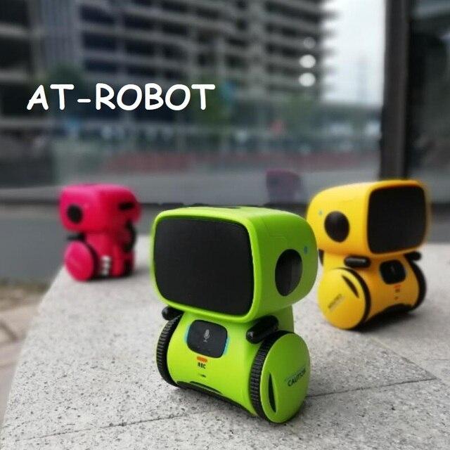 귀여운 춤 스마트 로봇 프로그래밍 대화 형 액션 그림 지능형 Robotica 장난감 로봇 제스처 아이 생일 선물