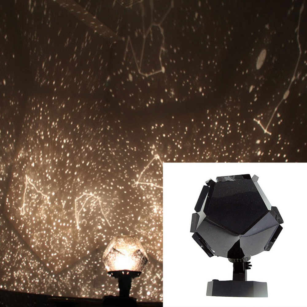 Revolving Lamp Night Light Present Romantic Cosmos Beautiful Gift Sky Projector Star Master Children Starry Christmas Light