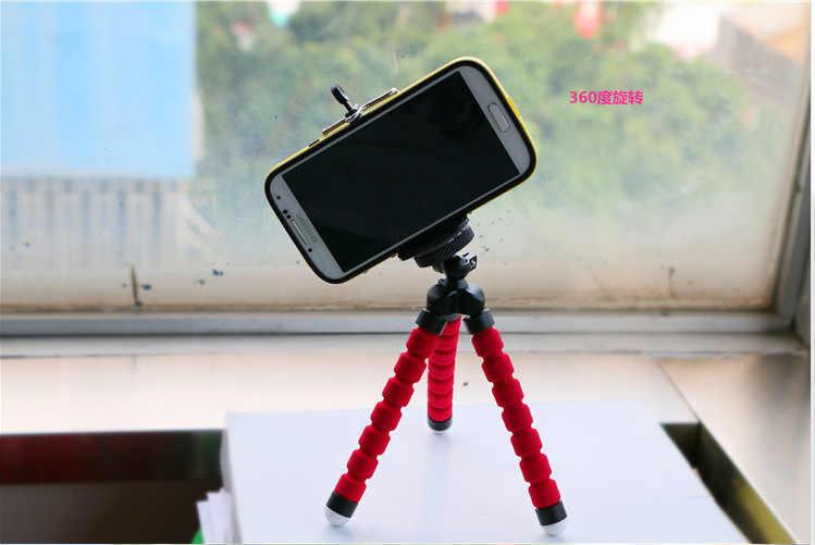 Foleto 2in1 Xe Người Giữ Điện Thoại Chân Máy Tripod Bạch Tuộc Ảnh Tự Sướng Chủ Đứng Chủ Núi cho iPhone 4 4 gam 5 5 gam samsung galaxy S2 S4 i9200