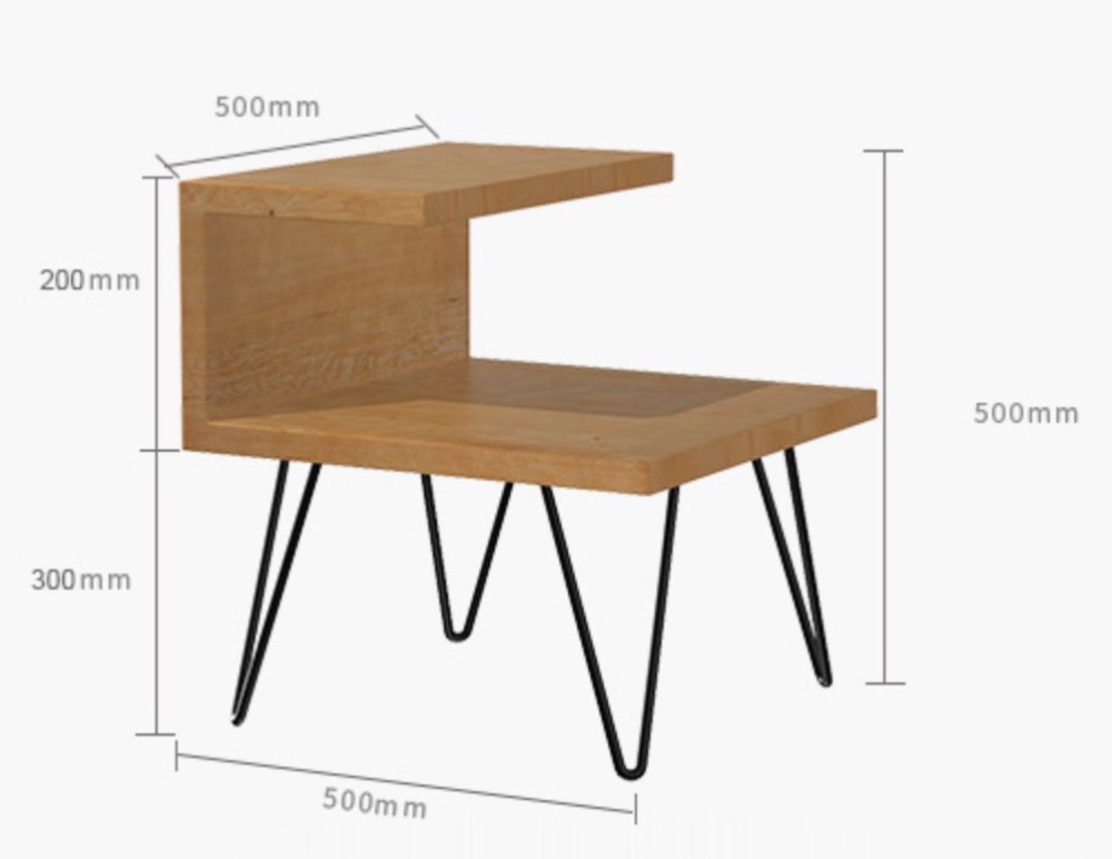 50x50x50cm Canada wood fir Nordic bedside assembly cabinet simple modern cabinet wrought iron wood bed small cabinet antique vintage wood bedside cabinet straw small cabinet drawer storage cabinets lockers simple paulownia wood