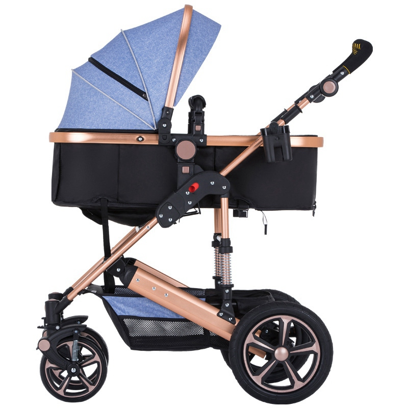 Comfortable Cradle Pram Strollers for Newborns Luxury Baby Carriages Lightweight Baby Stroller Infant Pushchair Safety Carriage newborn strollers high lightweight pram dropshipping wholesale portable baby top stroller carriage strollers fashion pushchair