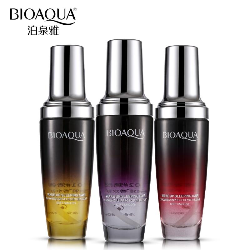 BIOAQUA Brand Hair & Scalp Treatment Pure Argan Hair Care Essential Oil Perfume Moisturizer Repair Hair Serum For Dry Hair Types