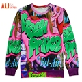 Alisister Fashion Classic Prince Bel Air Crewneck Sweatshirt Autumn Men/women 3D Hoodie Unisex Crewneck Harajuku Hoodies