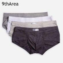 9thArea male underwear mens briefs 3-Pack soft Modal cotton Comfortable Design Men's underwear men intimo uomo sexy underpants