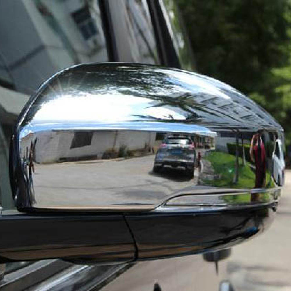 Wing Rear View Mirror Decorative Cover Sticker Trim for Land Rover Discovery 4 Discovery4 Range Rover