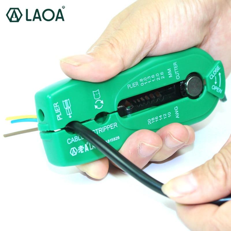 Přenosné odizolovací kleště LAOA Mini Network Wire Stripe pro - Ruční nářadí - Fotografie 1