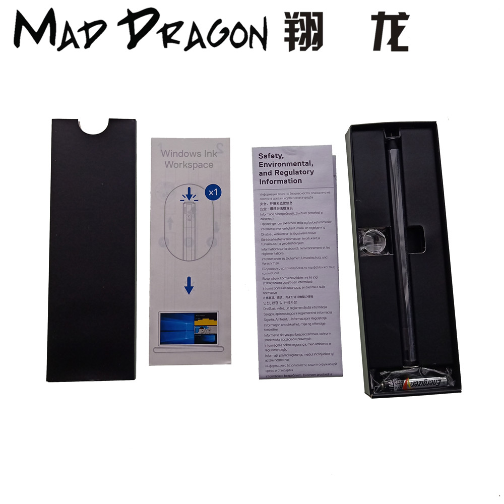 MAD DRAGON NEW Premium Stylus Active Pen (PN579X) For Dell 2-in-1 Laptop XPS 13 9365 XPS 15 9575  Windows Ink compatible display