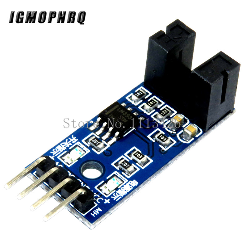 10PCS Speed Measuring Sensor Counter Motor Test Module Groove Type Optical Coupling Module