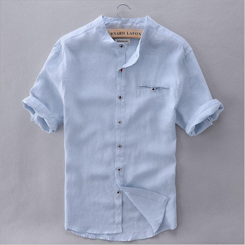 Mens Linen Shirts. When deciding on selections of shirts to enhance a wardrobe, one of the best solutions is a variety of men's linen shirts. Not only are linen shirts extremely handsome, they are also shirts that wear well and are meant to last.