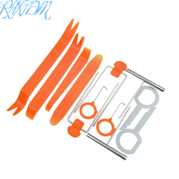 12 pcs/Set Auto Pry Open Tool Kit Car Radio Door Clip Panel Kit For BMW E46 E52 E53 E60 E90 E91 E92 E93 F01 F30 F13 M3 M5 M6 image
