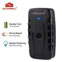 GPS Tracker Car Locator 2G Vehicle Tracker GPS Waterproof Magnet 6000mAh Long Standby Time Voice Monitor Free Web APP PK TK905