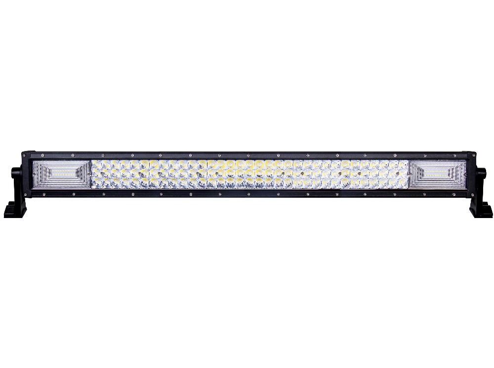 """32""""inch Curved LED Light Bar 135W Combo beam Driving work lights for Tractor Boat OffRoad 4x4 Car Truck SUV ATV"""