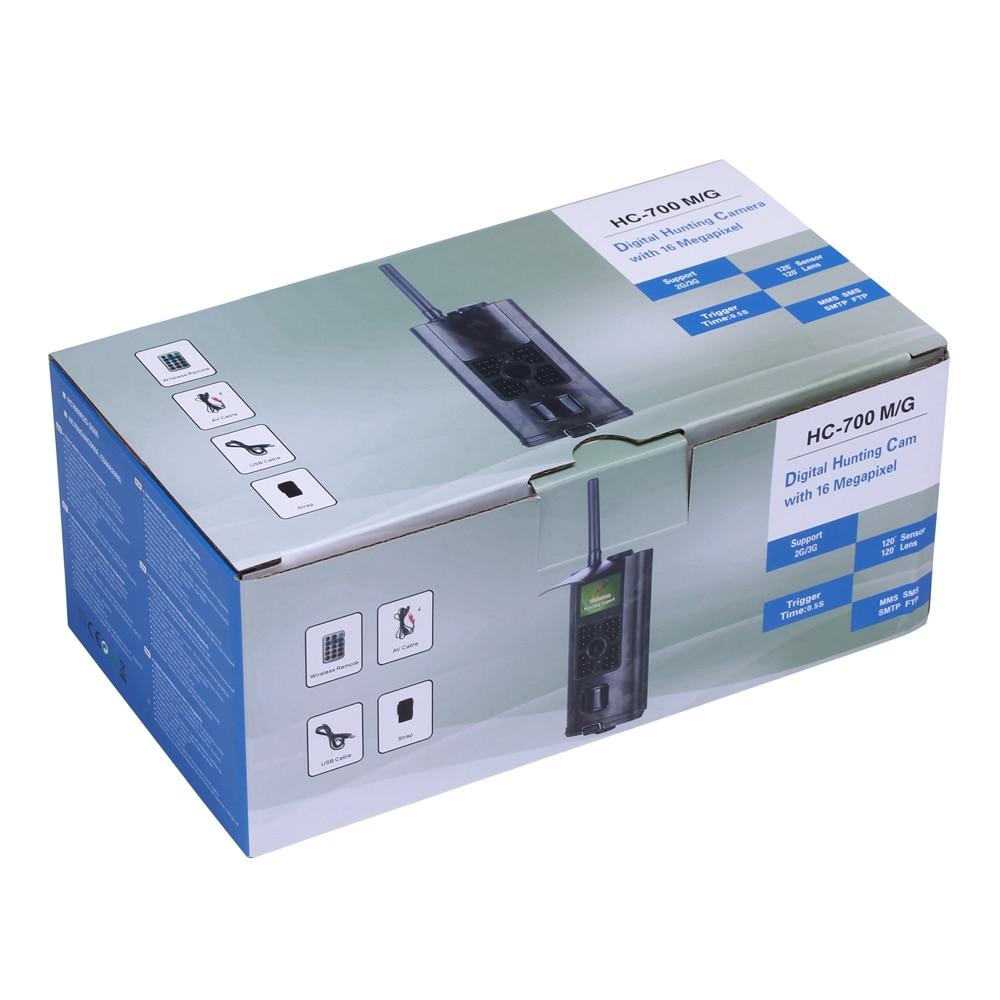 SuntekCam caméra de chasse 2G GSM MMS SMS caméra de suivi 0.5 s temps de déclenchement 16MP Vision nocturne Surveillance de la faune HC700M - 6