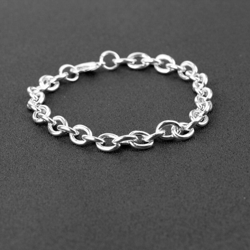 Accessories fitting bracelet Chain best friend simple Link chain Bracelet woman DIY fitting chain handmade gift for mom girl sis