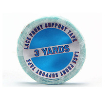 1″ * 3 yards Lace Front Support Double-Sided Tape Roll/Glue/Blue Liner/Medical Adhesive for Toupees/Lace Wigs/Hair Extensions