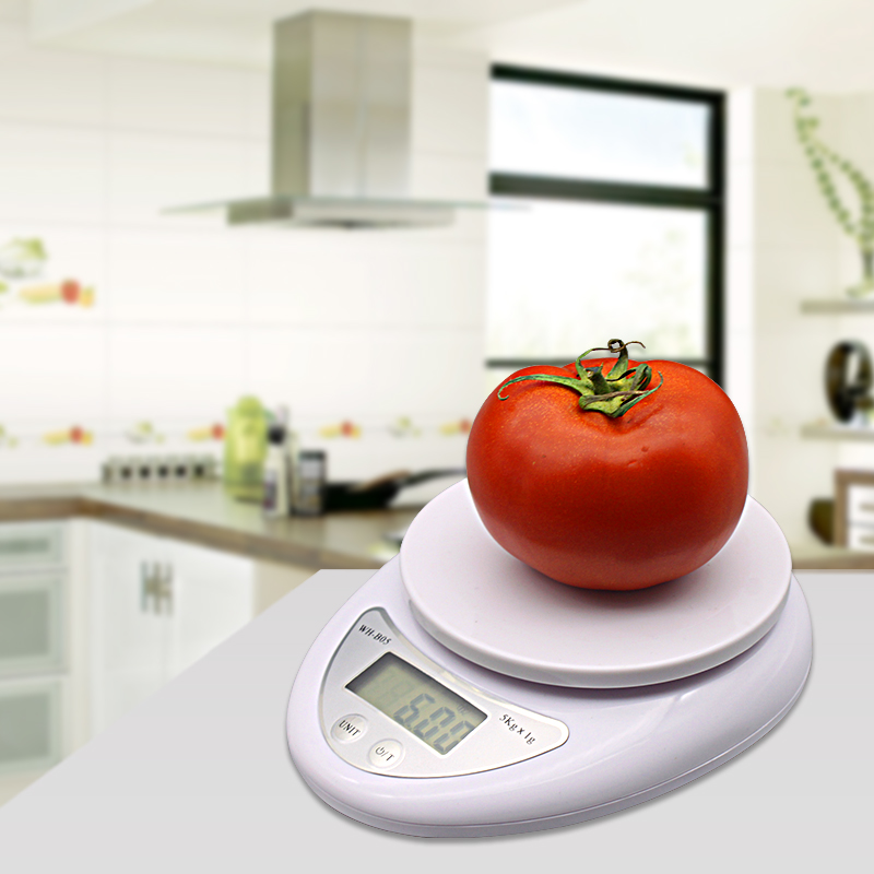 Food-Scale-Diet Cooking-Tools Electronic-Balance Digital LED 5kg 5000g/1g