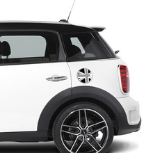 Aliauto auto-styling Auto-accessoires Tankdop Sticker Olie tank Decals 16 cm x 16 cm Voor Mini Cooper(China)
