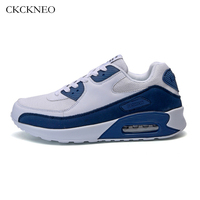 2017 Autumn/winter Running Shoes for Men Sport Shoes Breathable Women Sneakers Air Mesh White Men Trainers Jogging Walking Shoes