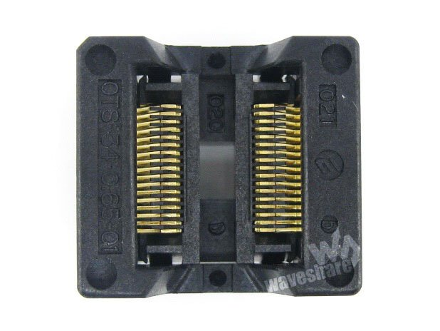 module SSOP34 TSSOP34 OTS-34-0.65-01 Enplas IC Test Burn-in Socket Programming Adapter 0.65mm Pitch 5.3mm Width import ots 28 0 65 01 burning seat tssop28 test programming