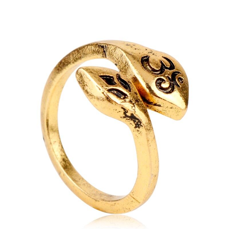 @1  Dongsheng Богемный Винтаж Йога Оливковая ветвь Костяшка Палец Кольцо Перья листья Йога Подарок ювели ①