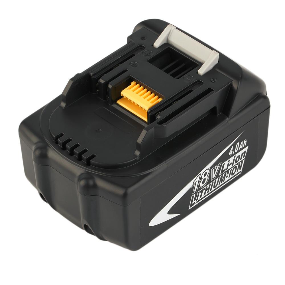 Prix pour Durable 18 V 4.0ah Rechargeable Au Lithium Batterie de Remplacement Power Tool Électrique Batterie Pour MAKITA BL1830