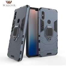 Walcox Ring Cases For Xiaomi Redmi Note 5 6 Pro 4x 4 Case MI A2 A1 Lite 8 SE Case For Pocophone F1 Mi Mix 2 2S 6X 5X MAX 2 3 Bag