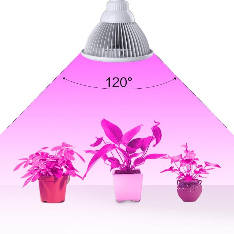 Novi dizajn E27 12W puni spektar LED svjetla za rast AC85-265V - Profesionalna rasvjeta - Foto 5