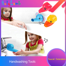 2019 Cartoon Animal  Faucet Extension Childrens Guide Sink Hand Handwashing Tools Of The Water Trough Bathroom
