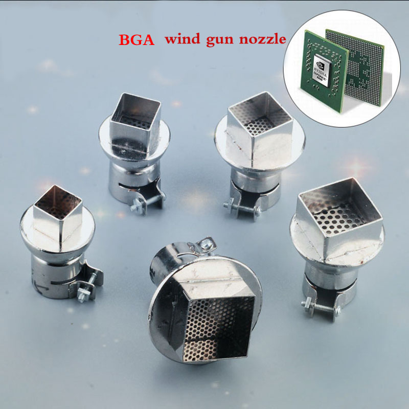 850 Hot Air Gun BGA Chip Dismantling Soldering Tin Special Wind Gun Nozzle BGA Wind Mouth BGA Rework Station