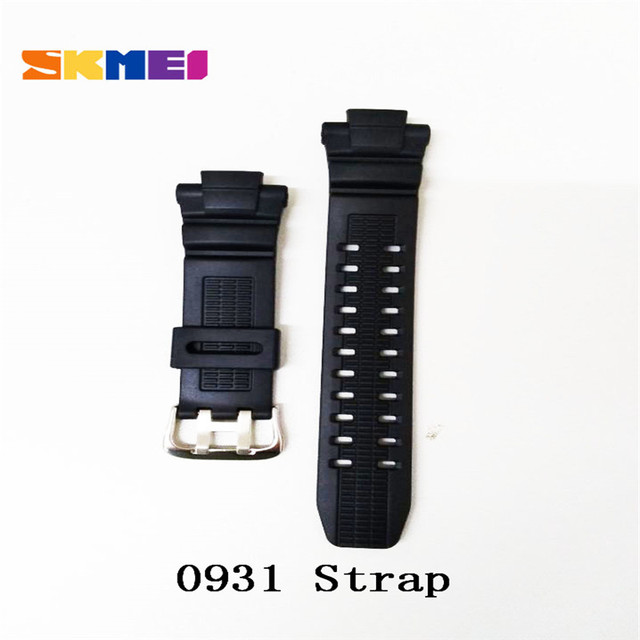 Skmei 1025 1068 0931 1016 1019 1251 Strap Watch Strap Plastic Rubber Straps For Different Model Bands Strap Watchbands 2019 New 1