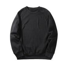 Laamei EU Size Fashion Colorful Hoodies Men's Thicken Clothes Winter Sweatshirts Men Hip Hop Streetwear Solid Fleece Man Hoody