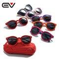 2016 Clássico Infantil Bebê Crianças Óculos Polarizados Óculos de Sol Revestimento Óculos de Sol UV Proteger a Segurança Das Crianças Shades oculos de sol EV1219