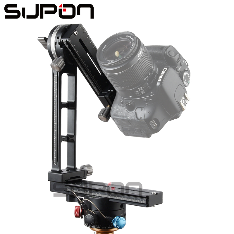 bilder für Neue Aktualisierte Pro fotografie 360 Winkel panoramakopf gimbal stativ kugelkopf Stativkopf für kamera camcorder